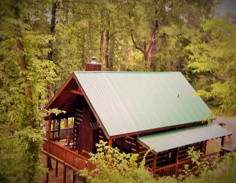 Mountain Hideaway Cabin Rental Peaceful Getaway Cabin